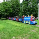 trenulețul din parcul mare