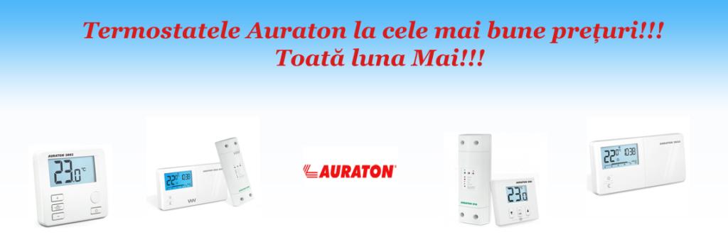 promotie la termostatele auraton