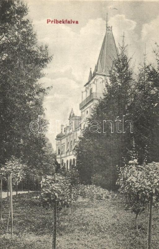 Castelul Teleki din Pribilești
