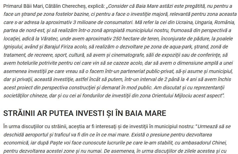investitorii chinezi